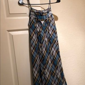 Gap Plaid Maxi-Dress